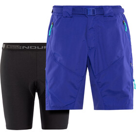 Endura Hummvee II Shorts Women cobalt blue